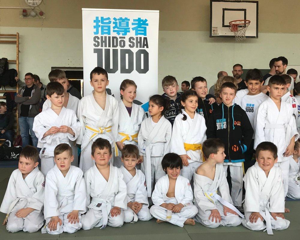Unsere erfolgreichen ShidoSha Anfänger-Kids…