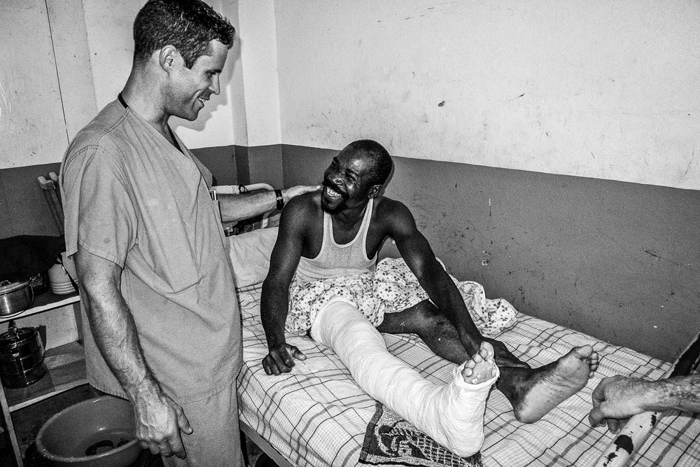 In addition to his clinical load in Santa Domingo, Scott would make 2 or 3 volunteer trips a year to the Justinian University Hospital in Cap Haitien, Haiti.