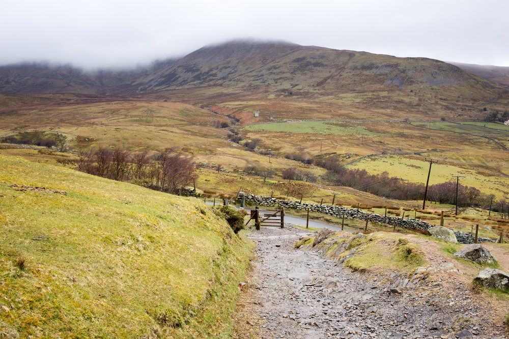 The Llanberis Path, Mt Snowdon, Wales