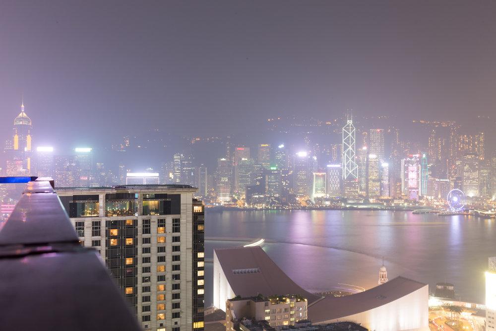 View from the Eye Bar, Hong Kong