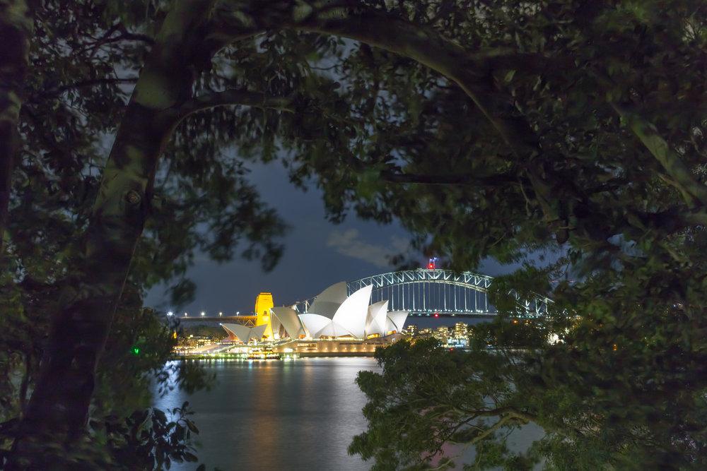 Opera House & Harbour Bridge, Sydney, Australia