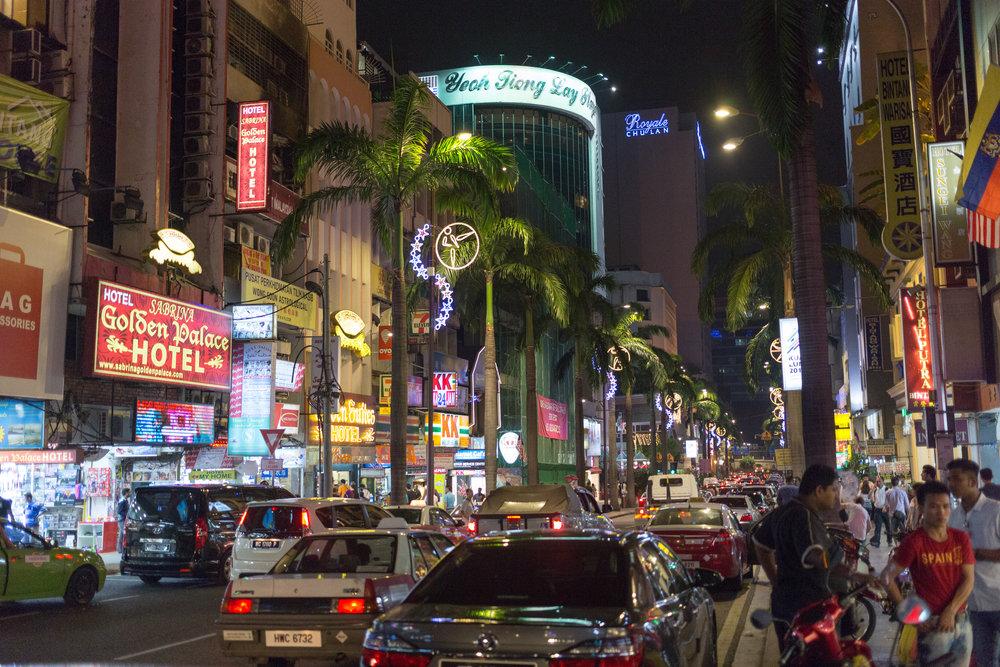 Central Kuala Lumpur, Malaysia