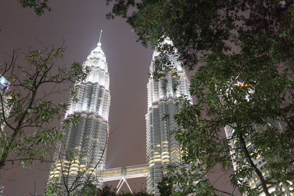 The Petronas Towers, Malaysia