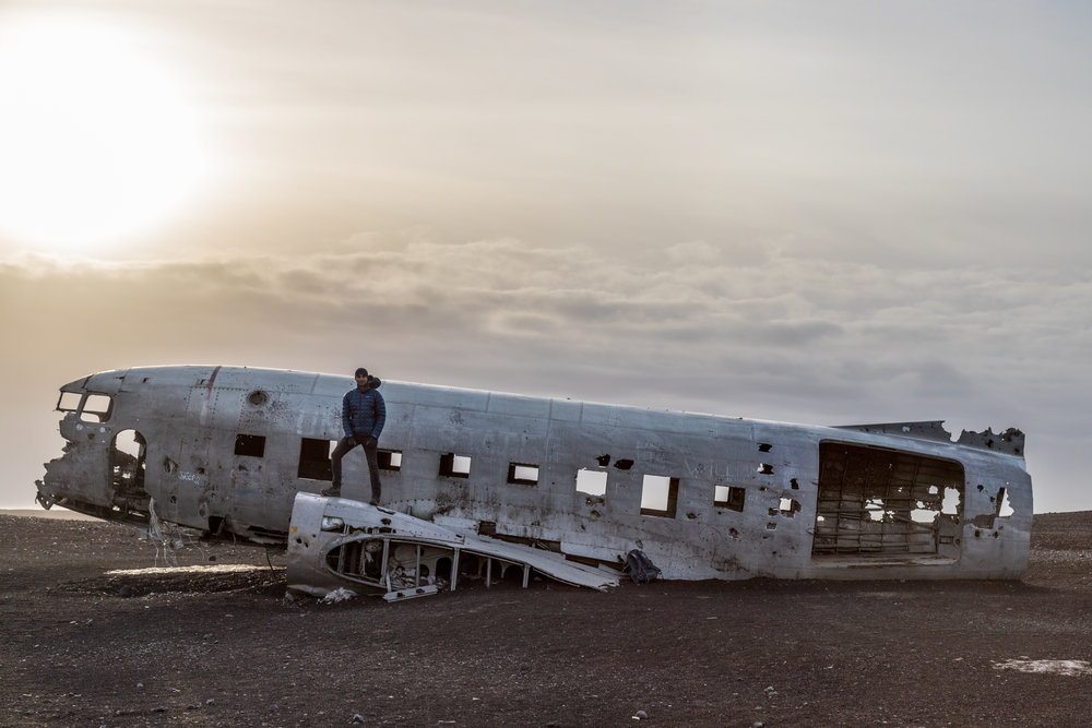 US Navy DC-3 plane downed in 1973 on Sólheimasandur Beach, Iceland