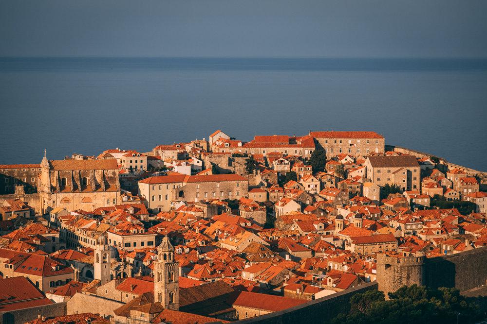 The Old Town, Dubrovnik, Croatia
