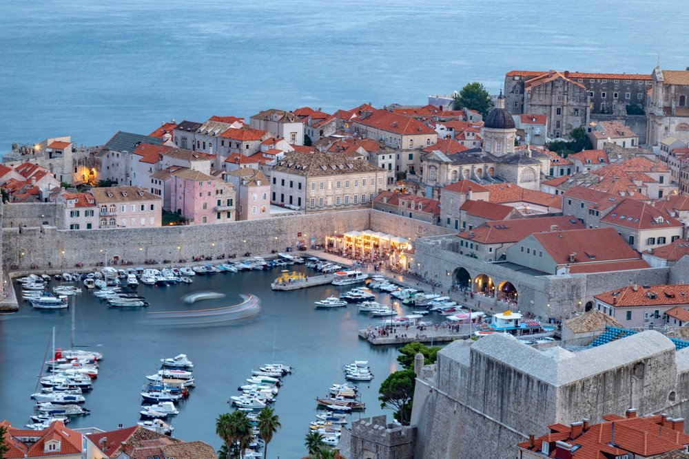 The Old Port, Dubrovnik, Croatia