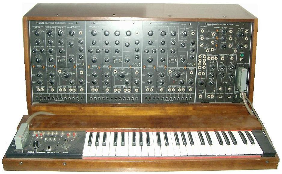 "Korg PS-3300 image via ""Mojosynth"" at Wikipedia; Creative Commons license applies."
