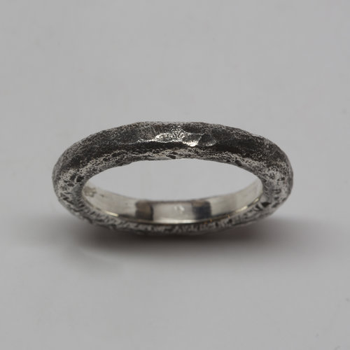 forged deviantart by art hynekalista damasteel rings wedding on
