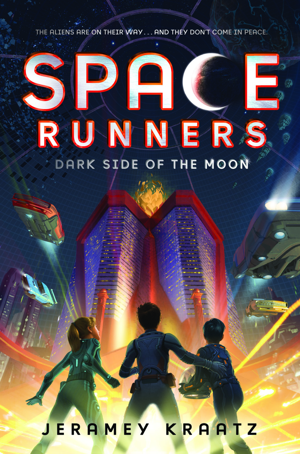 The story continues... - SPACE RUNNERS #2: DARK SIDE OF THE MOON is out now, and the flying cars only get faster in SPACE RUNNERS #3: THE COSMIC ALLIANCE (catch it on 11/13/2018)!