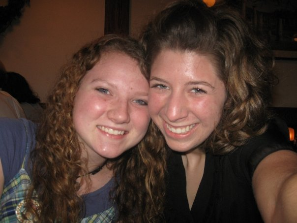 This is me and  my bff Emily B ten years ago. Back then, we loved to journal, explore, listen to Motion City Soundtrack, paint on rocks, knit, watch weird movies, and prank neighbors' mailboxes, have pillow talk, listen to local bands, and drink coffee. We still do most of these things :)