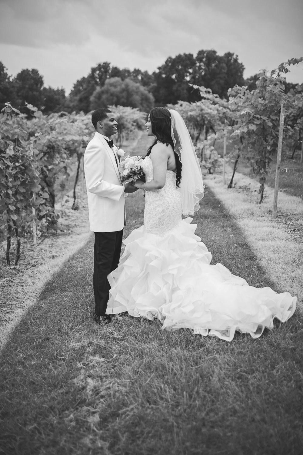 The reception was held at  Crown Winery  in Humboldt, Tennessee.I may have went a little MUCH on sharing these images from the portrait session, but they were just TOO GOOD to leave behind!