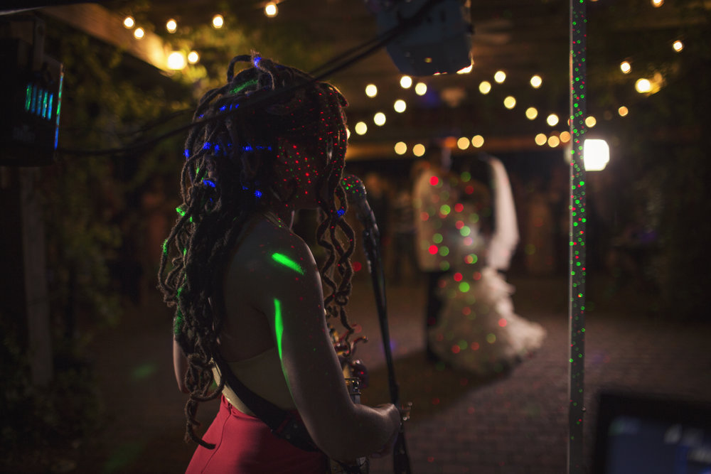 Valerie June  gave a private concert for her sister and new brother-in-law. It really did seem like a personal gift from her heart to theirs.