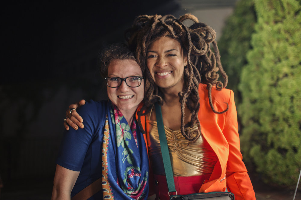 One other little detail from this wedding... I got a picture with  Valerie June  :)She has the most inspiring spirit. It was a real treasure to be able to photograph her performance. #MyLifeIsNeat