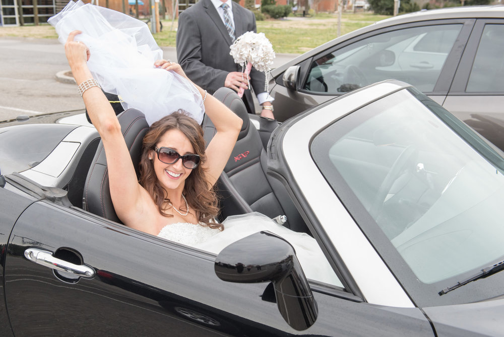 Convertibles are perfect getaway cars!