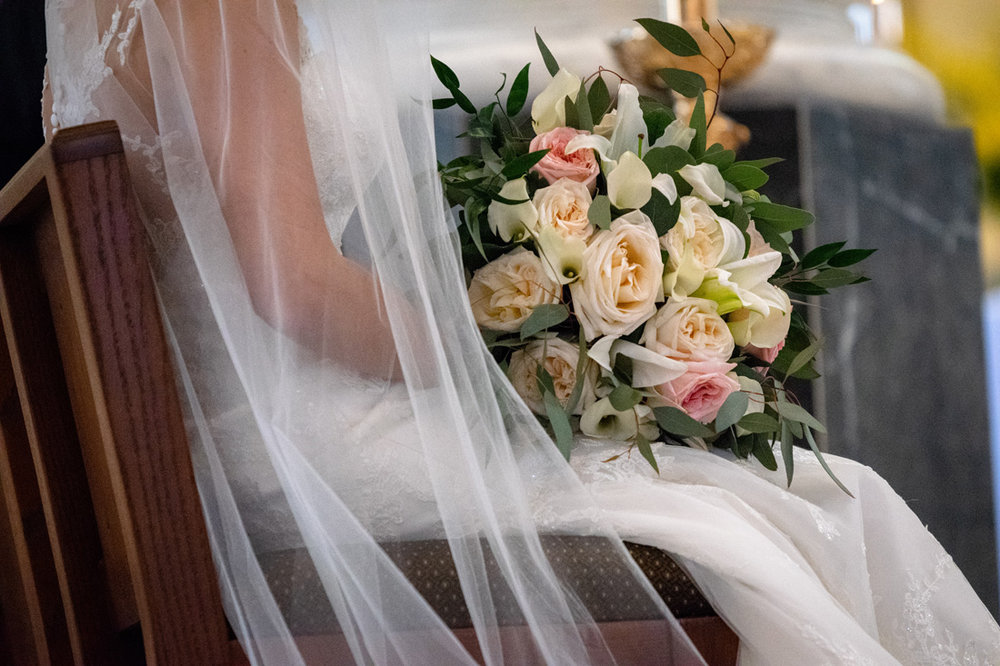 A killer bridal bouquet!