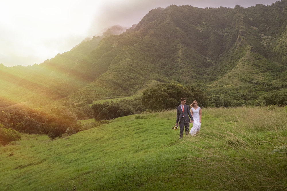 Saren & Joe - Kualoa Ranch (Kaneohe,Hawaii) & Laie Temple (Laie, Hawaii)