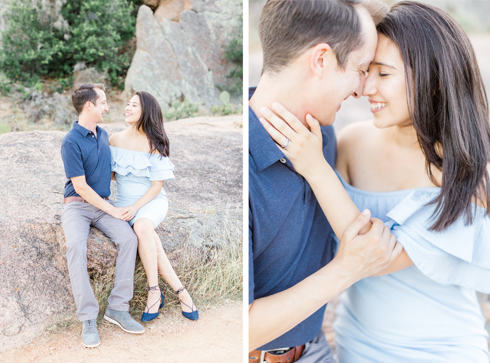 San Antonio Austin Tx Texas Hill Country Wedding Enchanted Rock Engagement Anniversary Photographer Engagement Anniversary Photo Session Pictures