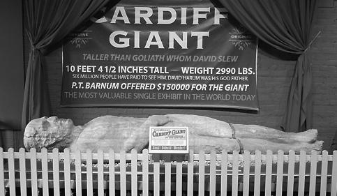 Cardiff Giant Exhibit