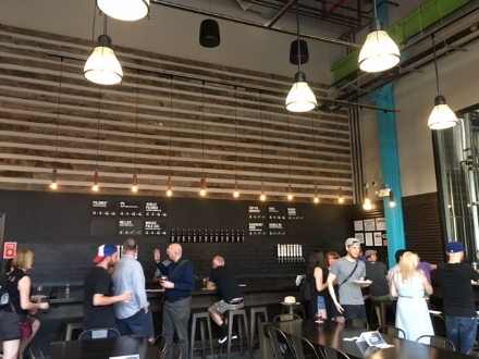 The bar at Five Boroughs