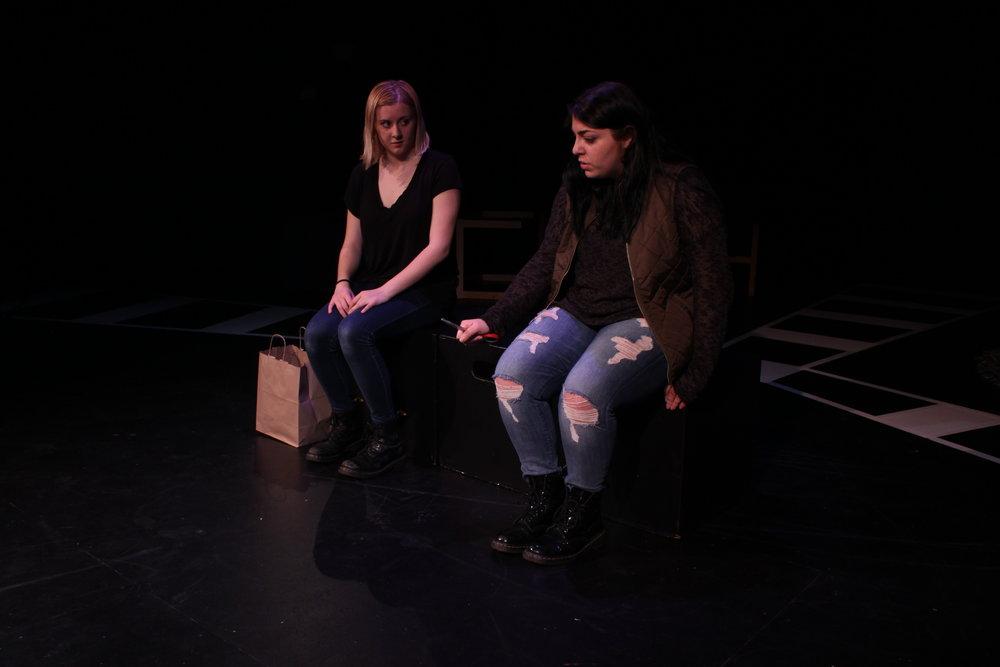 Left to right: Hannah Beebe, Danielle Amero