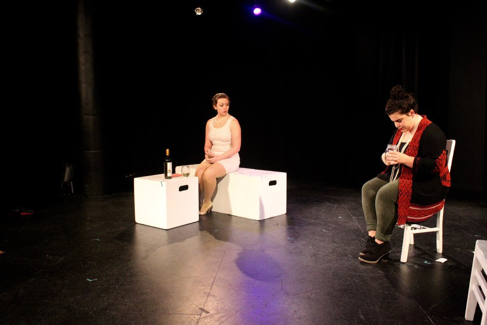 Left to right:  Taylor Beidler , Lydia Utter