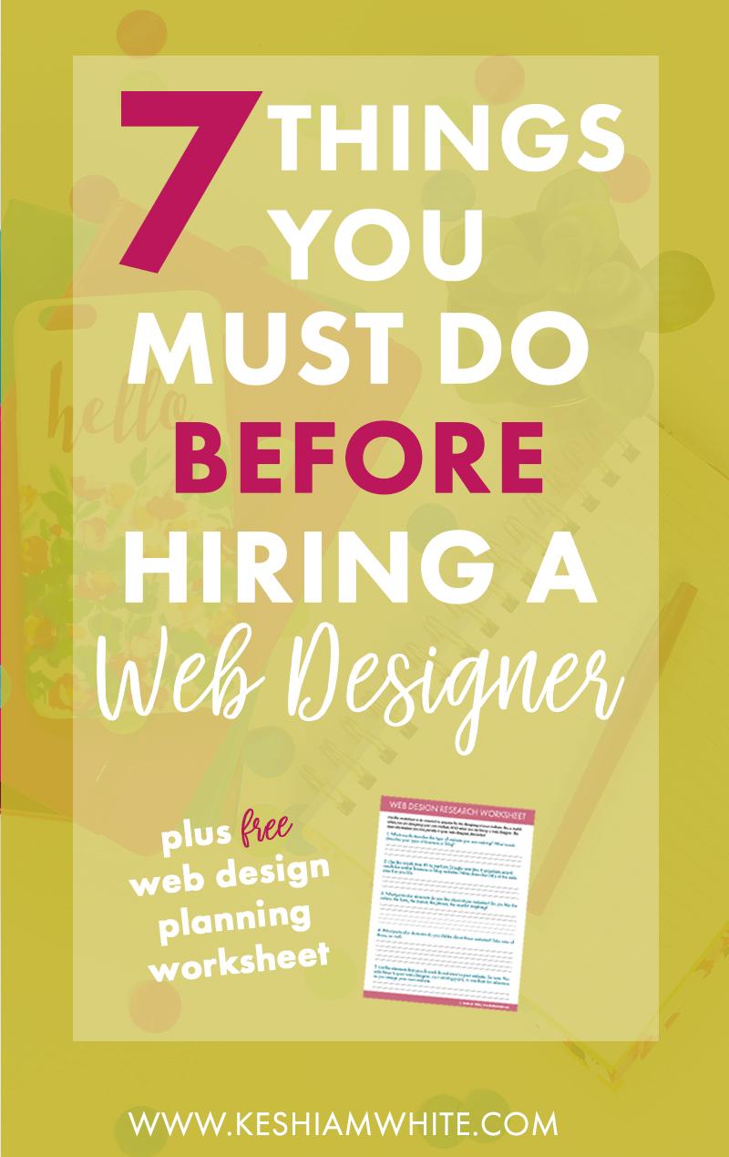 things-to-do-before-hiring-web-designer