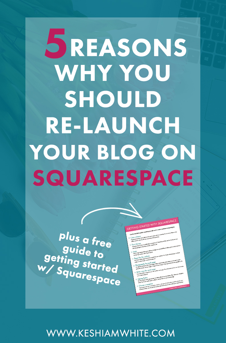 Why You Should Relaunch Your Blog on Squarespace