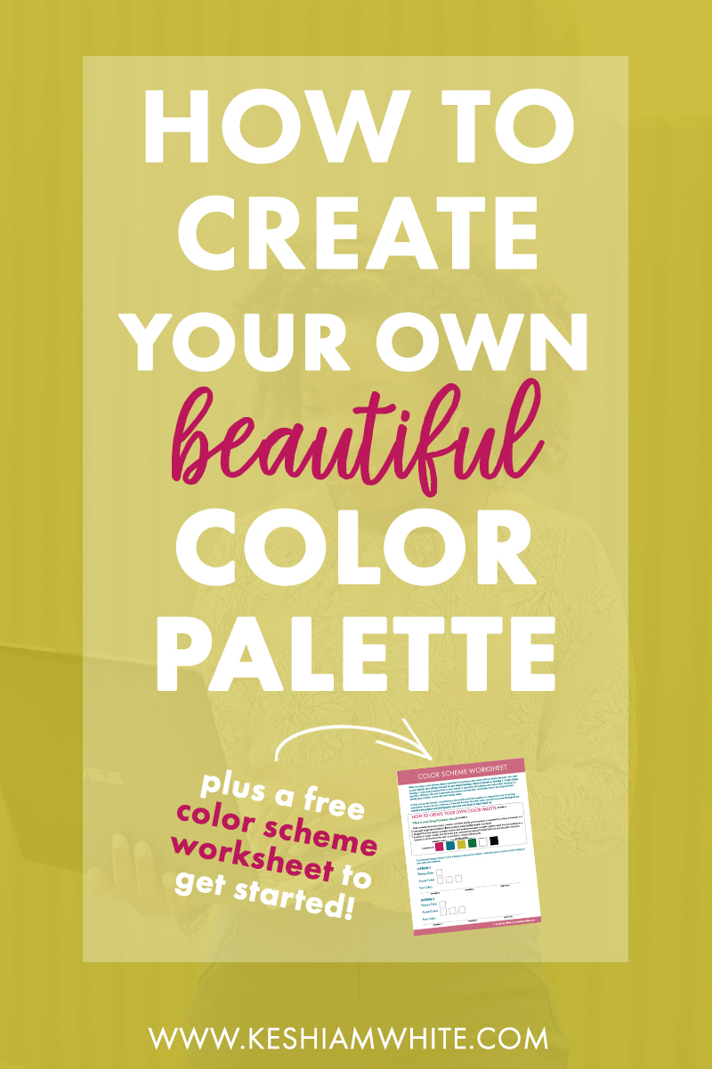 How to Create Your Own Color Palette