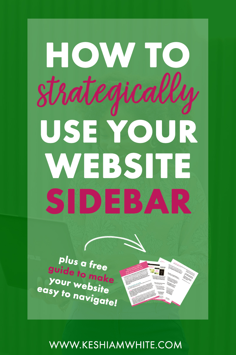 What to Put in Your Website Sidebar