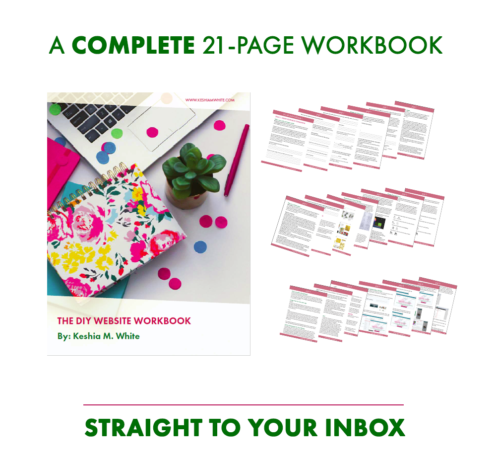 DIY Website Workbook - Keshia M White