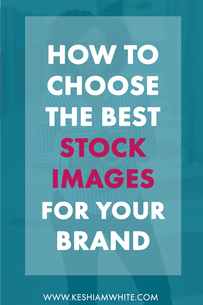 how to choose stock images