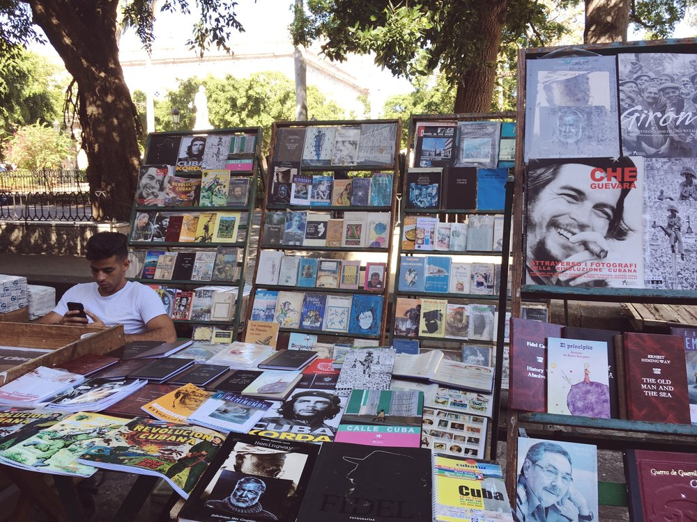 The Old Havana Book Fair