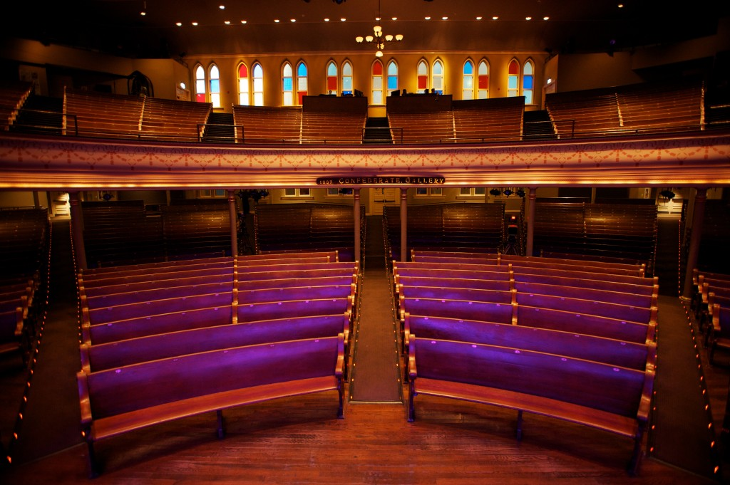 The Ryman Auditorium, by Justin Wright Photography