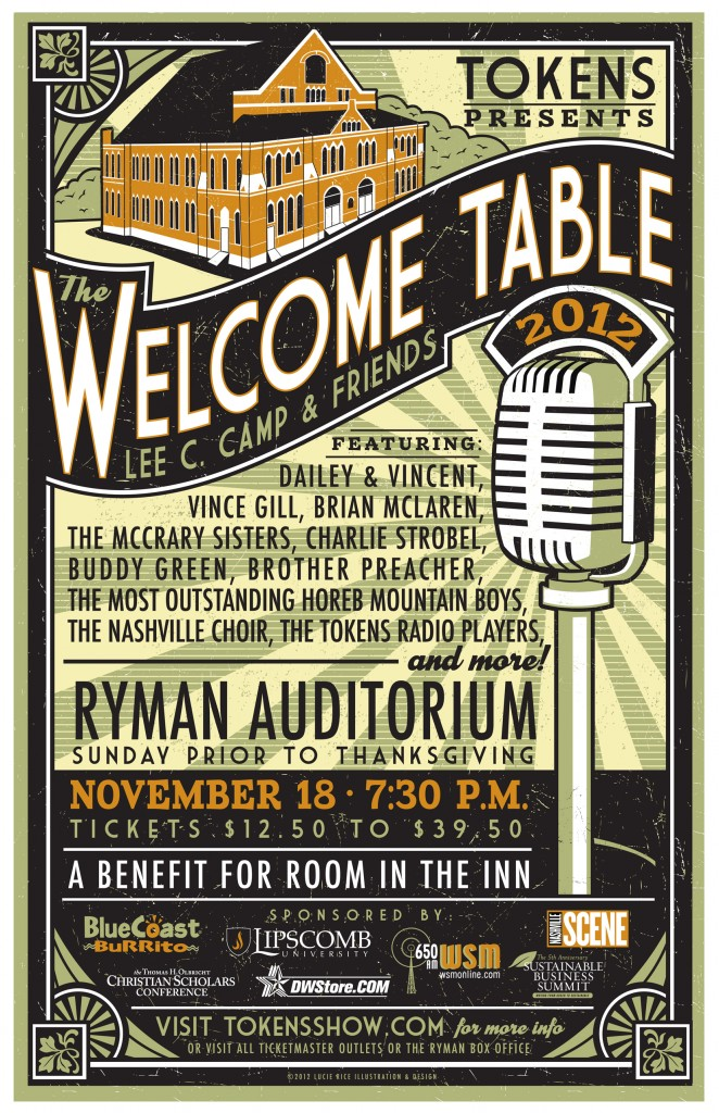 19: The Welcome Table - November 30, 2012
