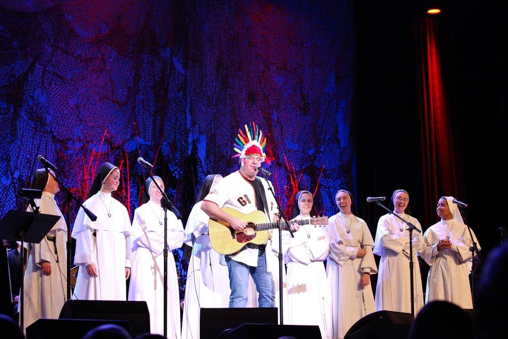 Nuns with Vince.jpg
