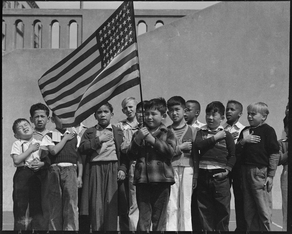 Flag of Allegiance Pledge