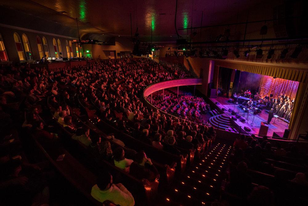 "Ryman Auditorium | Nashville | ""Welcome Table"" | November 2017"