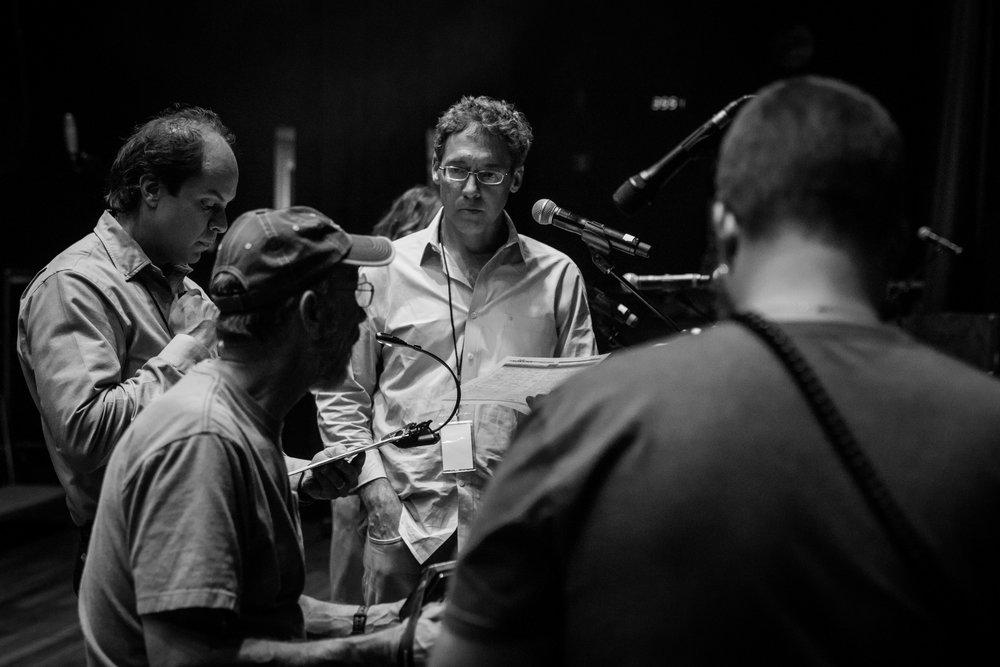 "Rehearsal, Ryman Auditorium | Nashville | ""Welcome Table"" | November 2017"