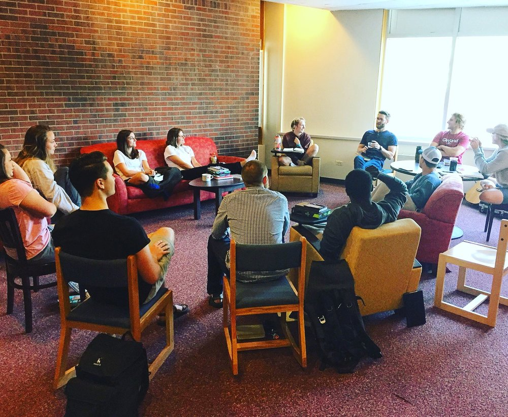 I had the opportunity to be a small part of the equipping of a group of university students spending their summer serving Denver through a program called 'GenSend' through our partners with The North American Mission Board.