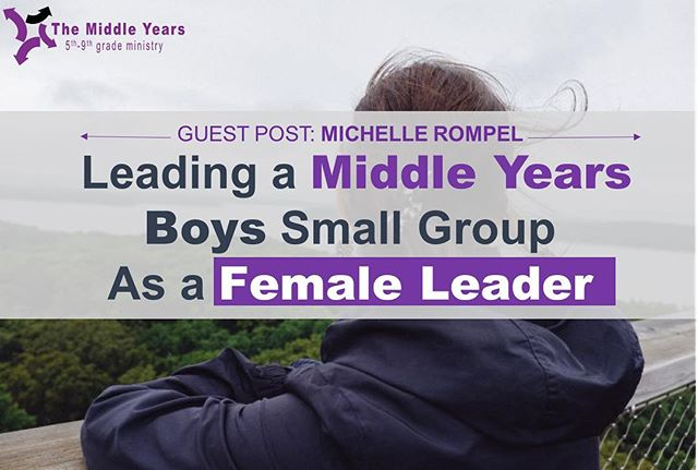 So fun to have my first ever guest post go live! #middleyears #middleschoolministry