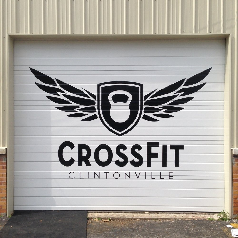 Exterior Logo | Enamel | Crossfit Clintonville | Columbus, Oh