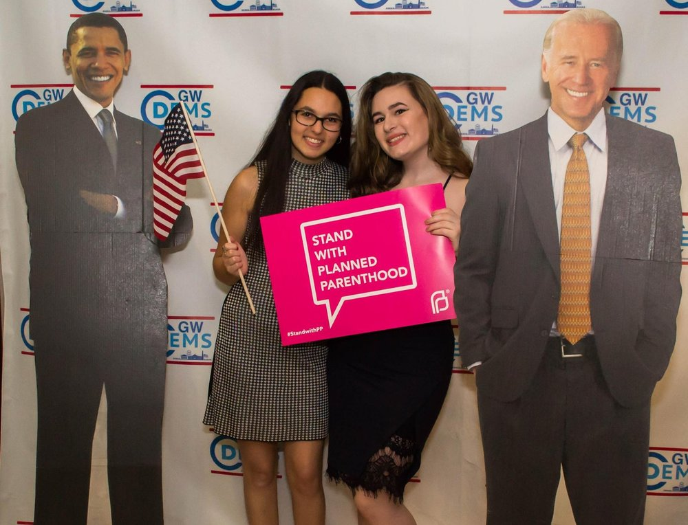 The 2017 annual Dems winter gala to benefit Planned Parenthood was thrown in honor of our departing president and all he had accomplished over the previous eight years. GW College Democrats were proud to raise over $10,000 for Planned Parenthood.