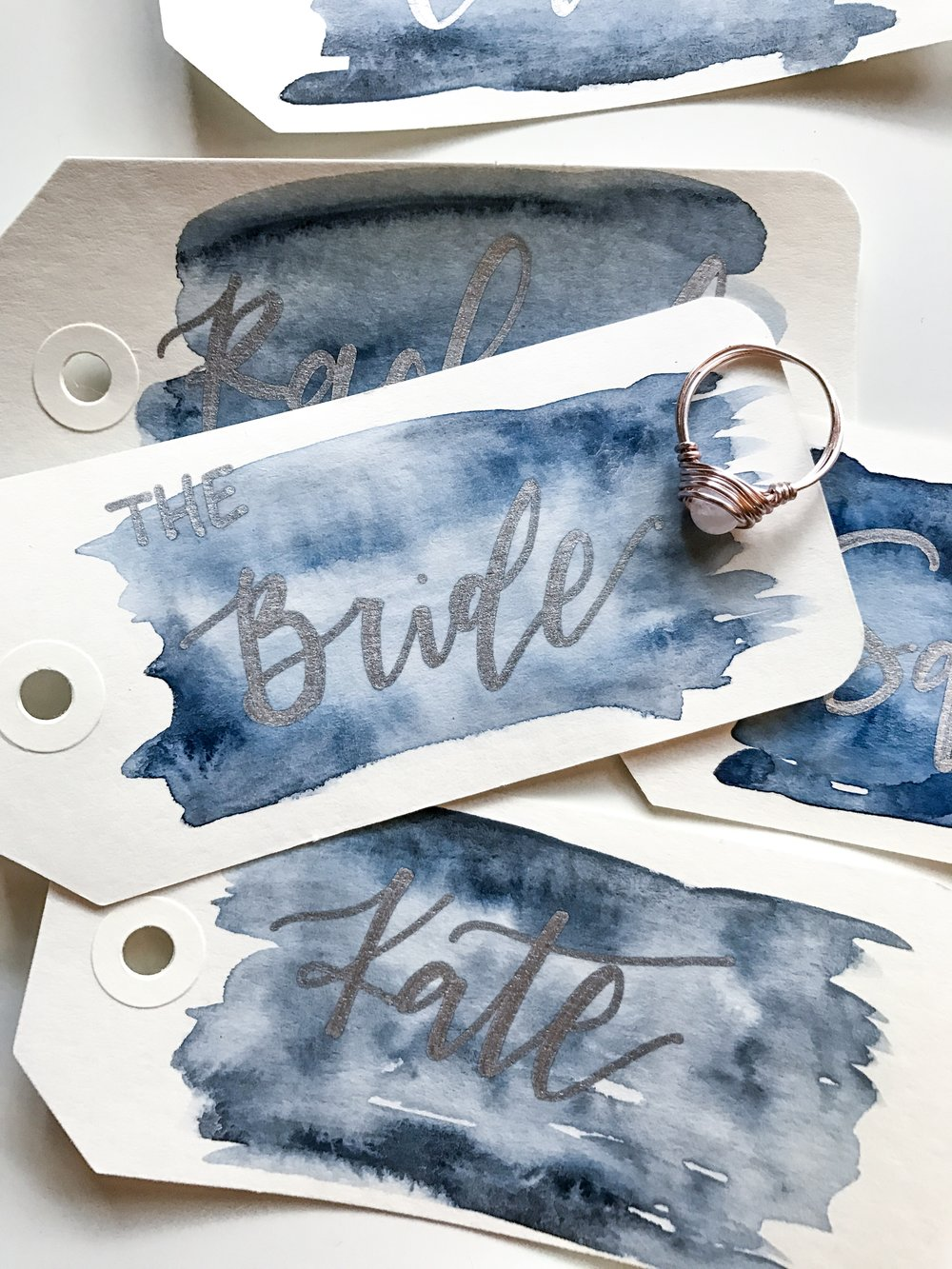Name Tags, Escort Tags, Place Cards