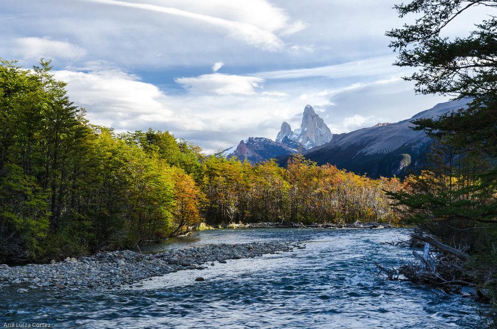 Rio de las Vueltas, Parque Nacional los Glaciares