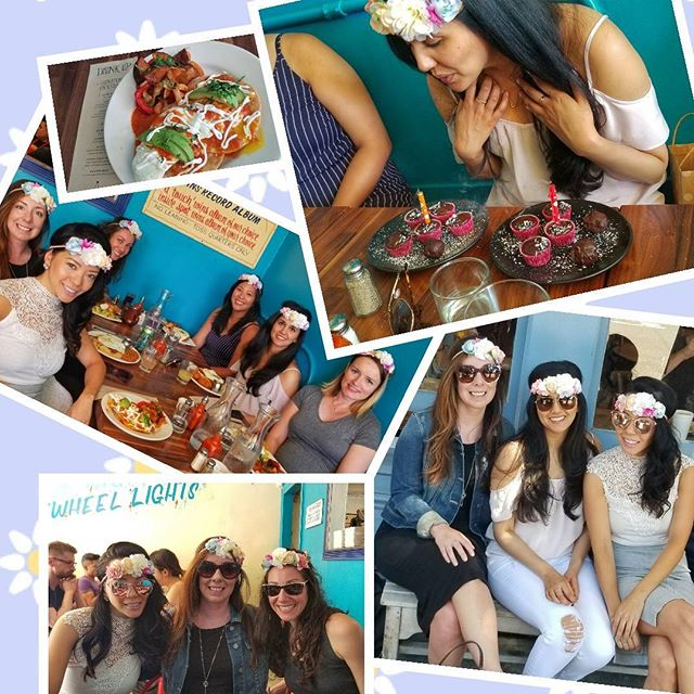 Celebrating this chick's birthday weekend at Straw! @kiran10 . . #birthdaygirl #brunch #weekend #goodvibes #prettygirls #flowercrowns #sunshine #brunch #hayesvalley #chocolatecupcakes #girls #teampinnacle #sunshine #sunglasses #ladies