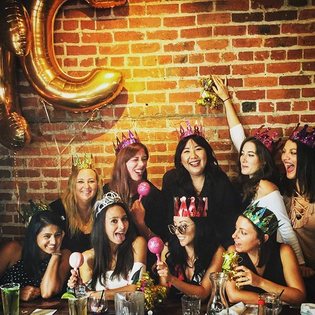 Mimosa Challenge? . . #bacheloretteparty #sf #donpistos #girlies #ladies #queens #cc4life #tacos #brad #chad #josh #crowns #pinatas #holdup #guac #bottomlessdrinks #chambong #stayclassy #itsonlythefirstbar #heslivinghisbestlife
