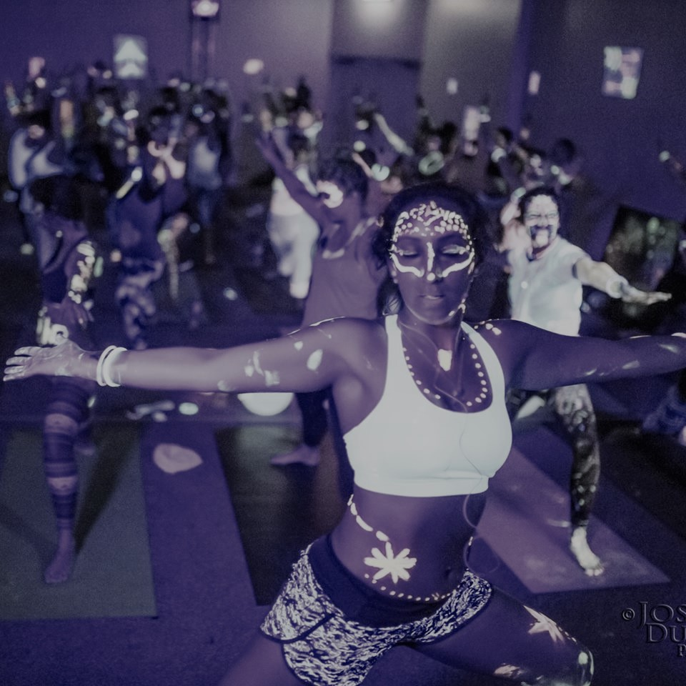 GLOWGA  UV paint, UV lights, and awesome music allowing you to glow and create.  Suitable to anyone that is willing to have fun and create bright connections.  Be ready to find the enjoyment of connecting to yourself and others.