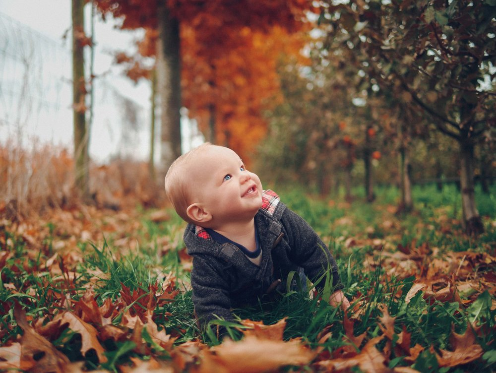 Fall Baby Vancouver Photographer