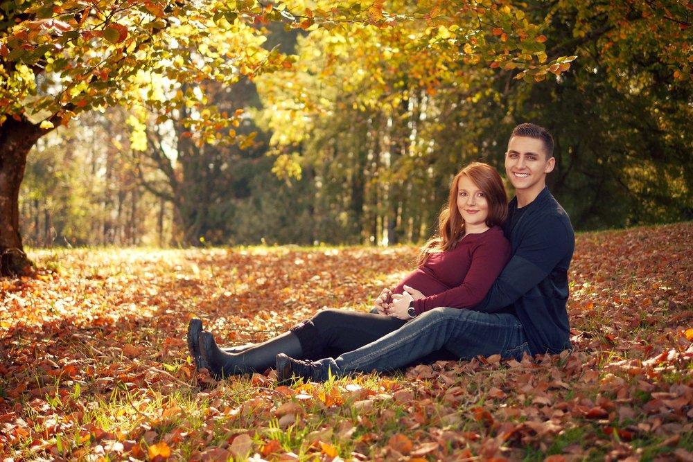 Fall Maternity Vancouver Photographer