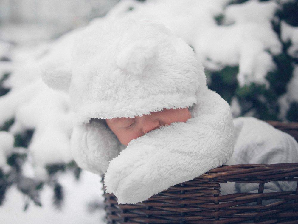 Winter Newborn Photography